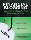 Susan Weiner's Book: Financial Blogging