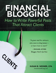 book cover: Financial Blogging: How to Write Powerful Posts That Attract Clients
