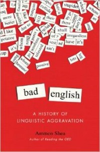 bad english book by ammon shea