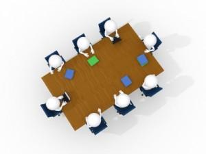 men in business meeting