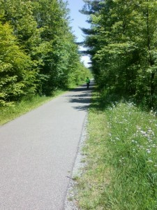 bicycling the Ashuwillticook trail