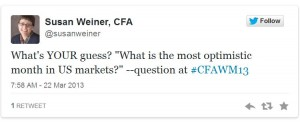 #CFAWM tweet